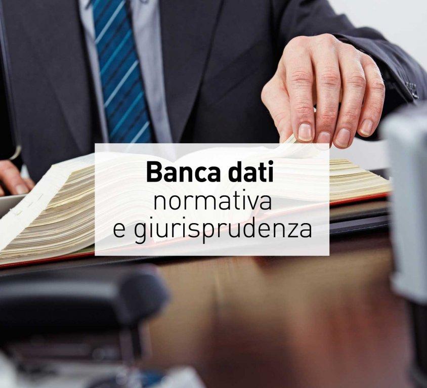 Banca dati Normativa & Giurisprudenza